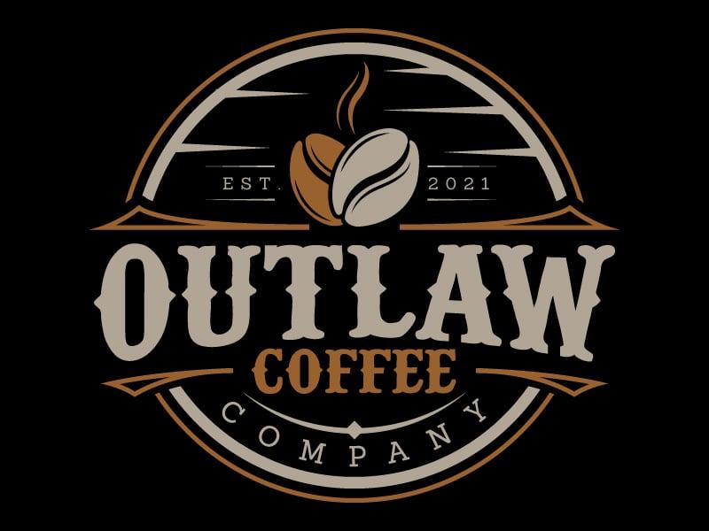 Outlaw Coffee Company Logo Design