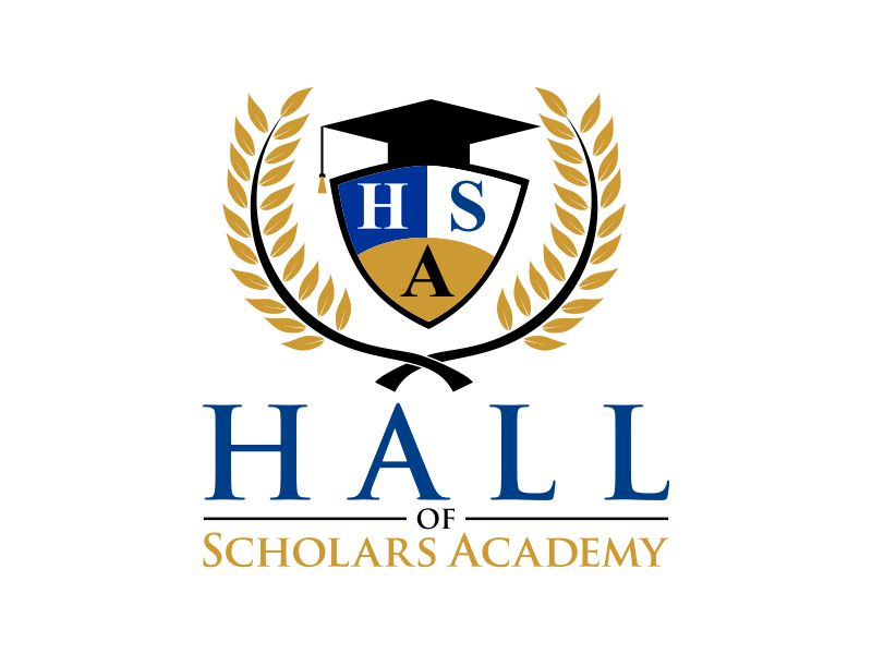 Hall of Scholars Academy Logo Design