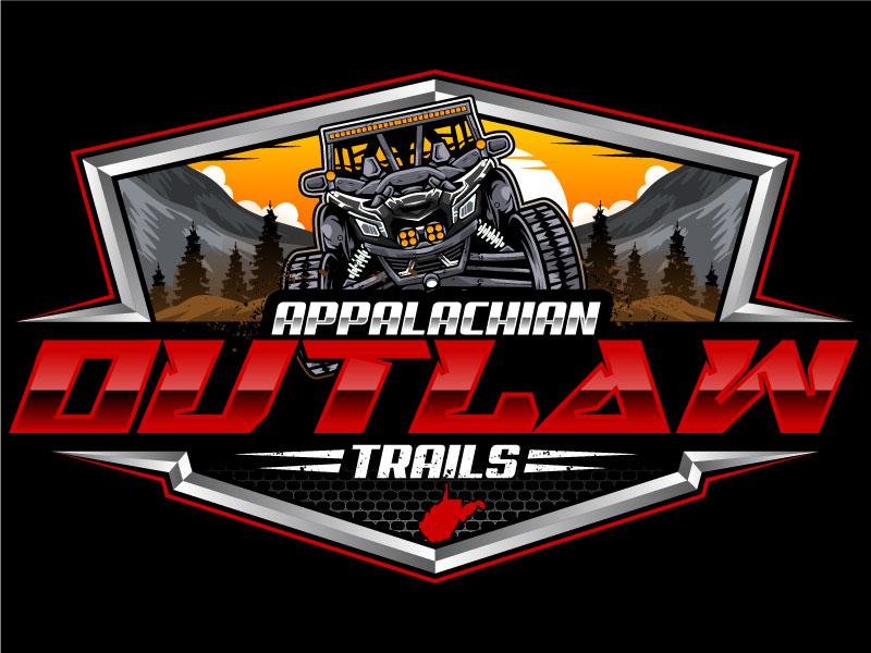 Appalachian Outlaw Trails Logo Design