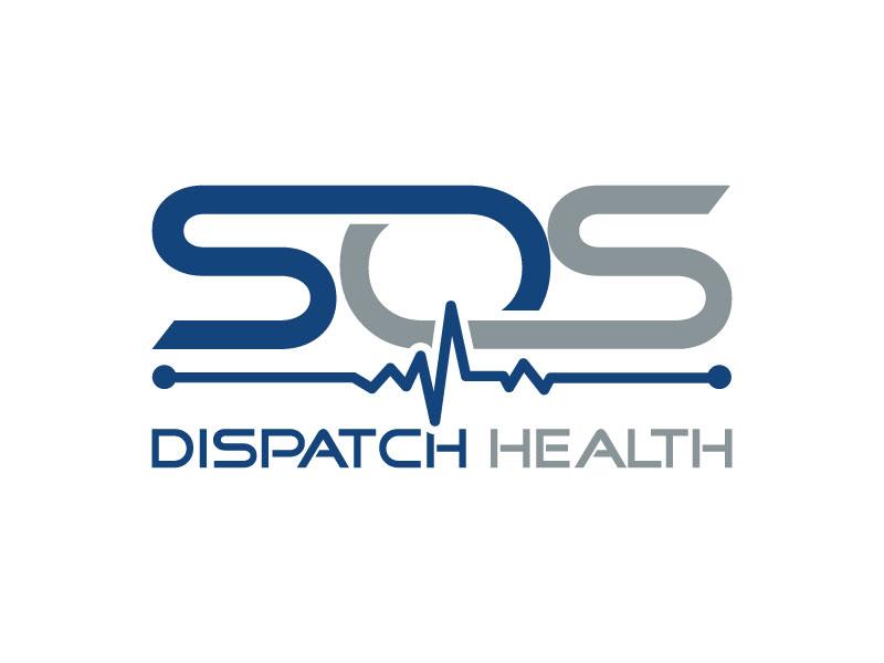 SOS Dispatch Health Logo Design