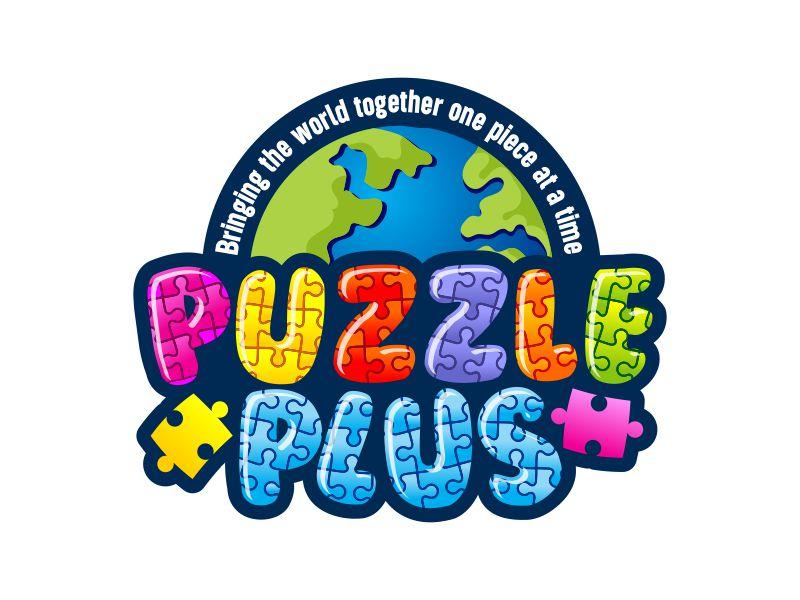 Puzzle Plus Logo Design