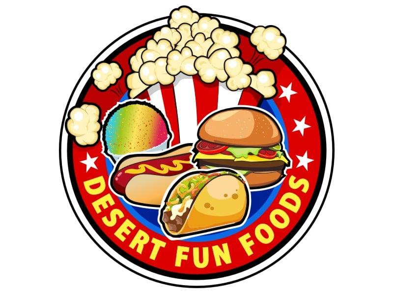Desert Fun Foods Logo Design