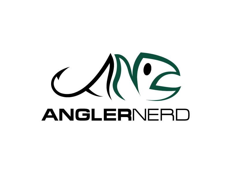 Angler Nerd Logo Design