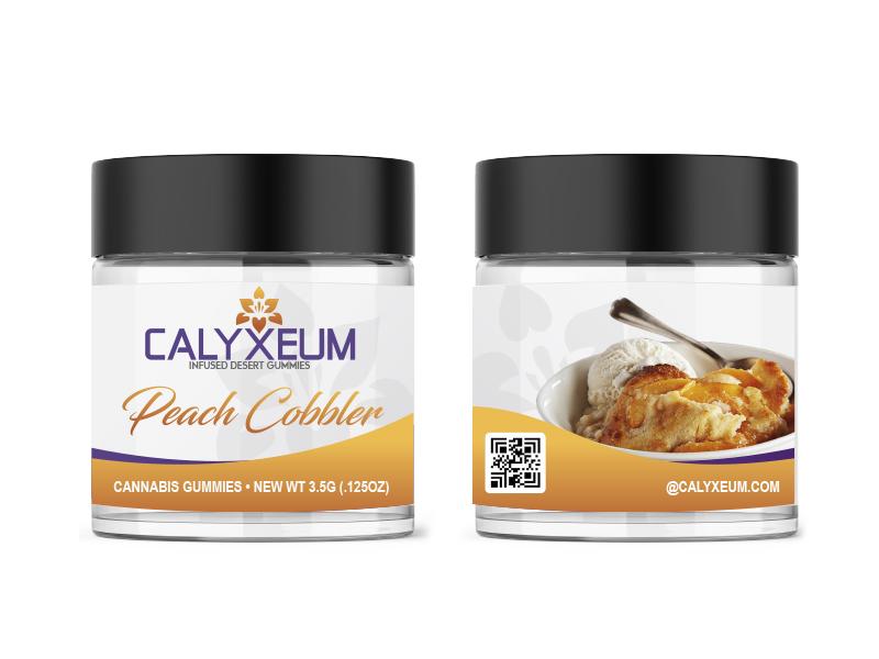 Calyxeum Infused Desert Gummies Logo Design