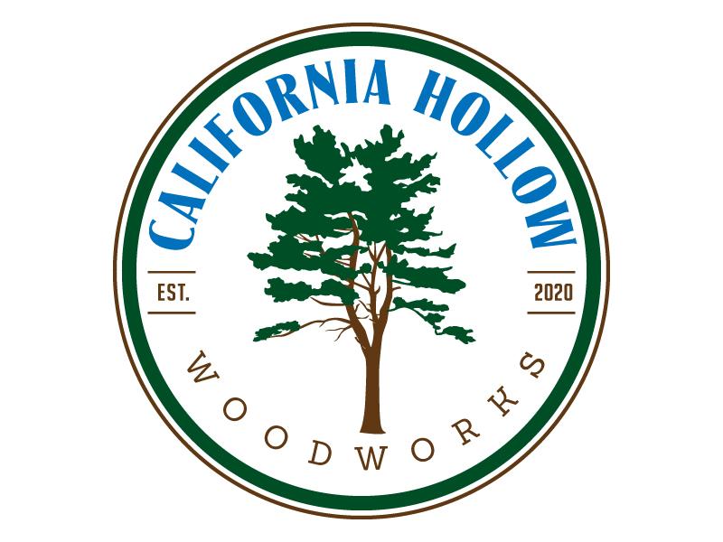 California Hollow Woodworks Logo Design
