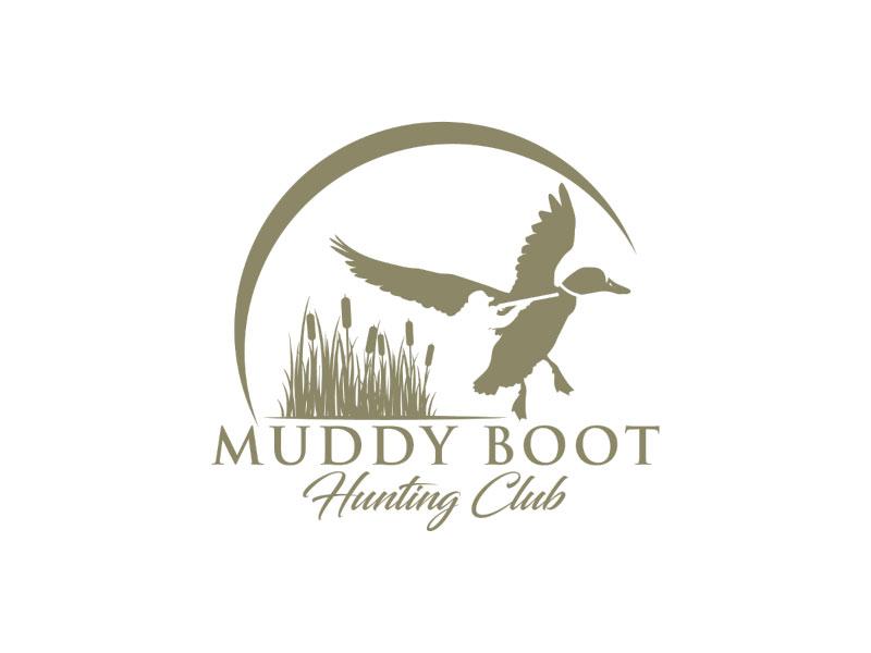 Muddy Boot Hunting Club Logo Design