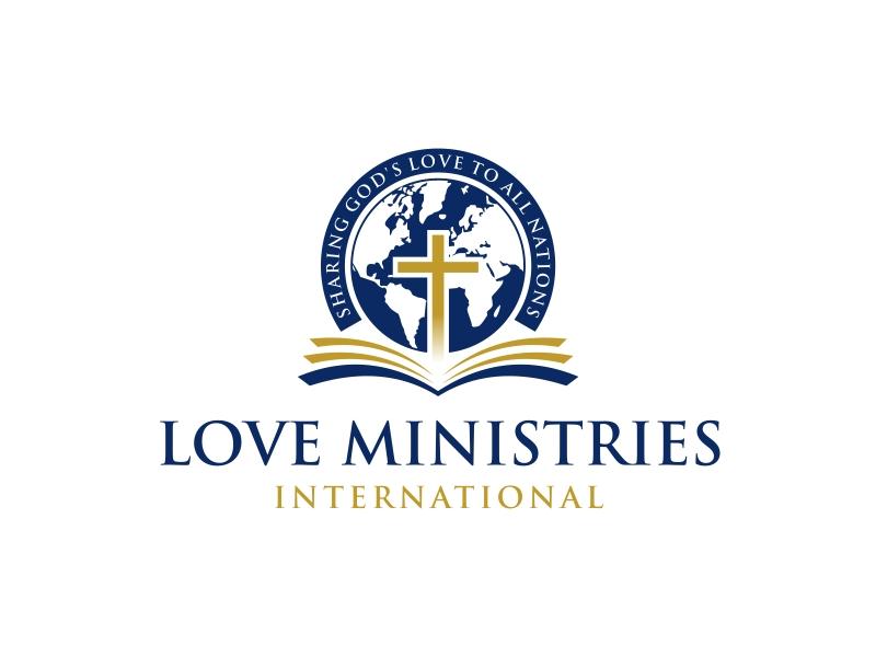 Love Ministries International Logo Design