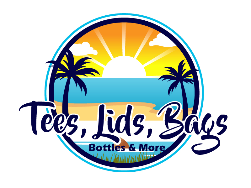 Tees, Lids, Bags, Bottles & More Logo Design