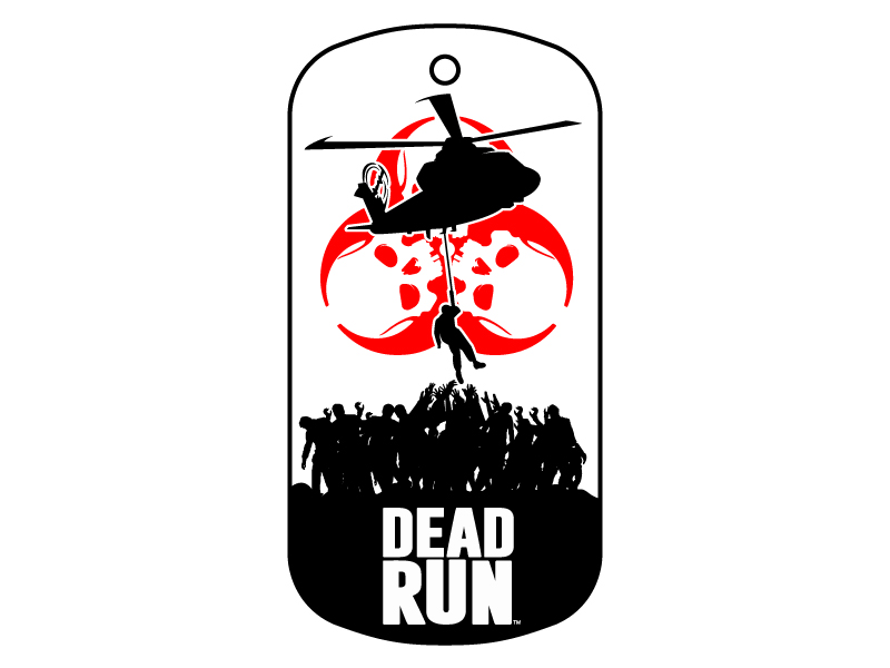 Dead Run Logo Design