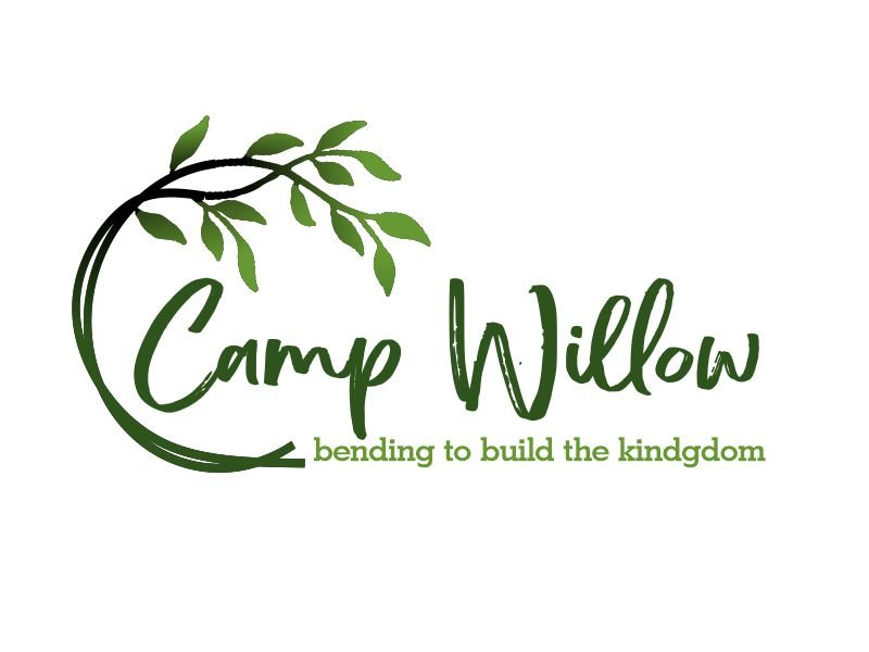 Camp Willow Logo Design