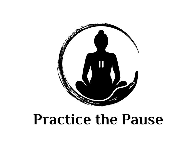 Practice the Pause Logo Design