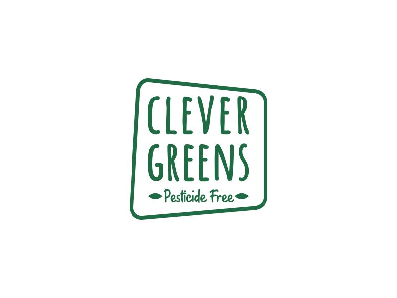 clever greens Logo Design