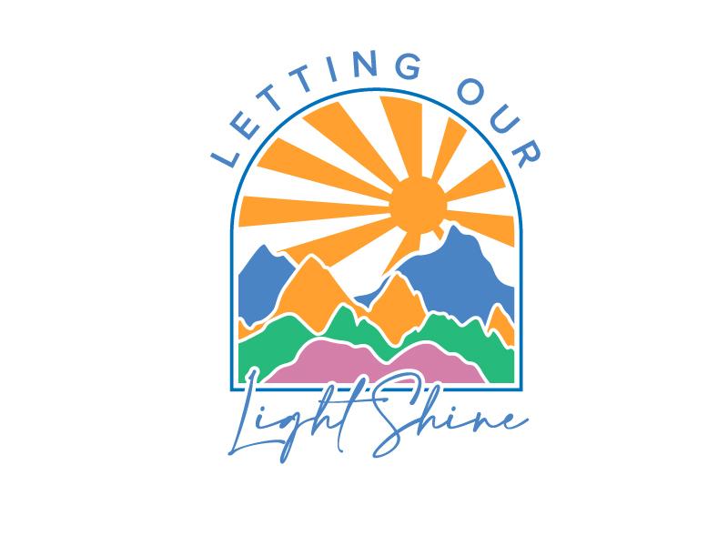 Letting Our Light Shine Logo Design