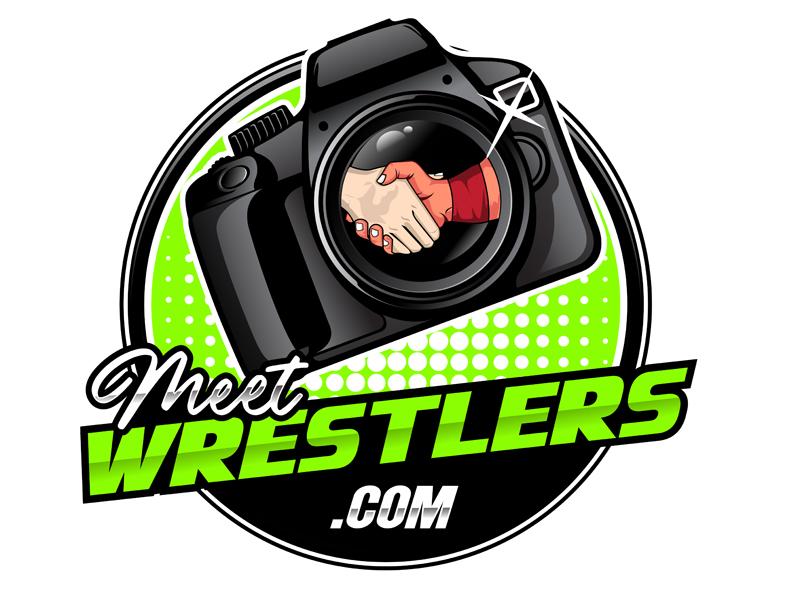 MeetWrestlers.com Logo Design