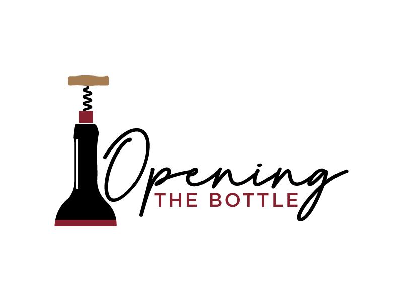 Opening The Bottle Logo Design