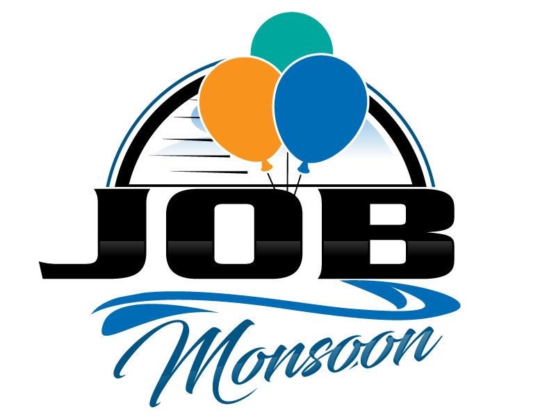 Job Monsoon Logo Design