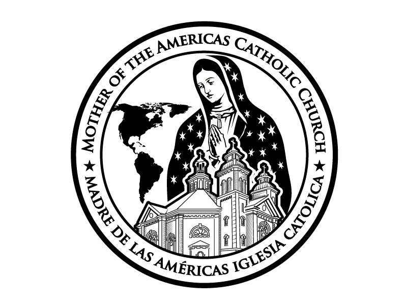 Mother of the Americas Catholic Church /  Parroquia Madre de las Américas Logo Design