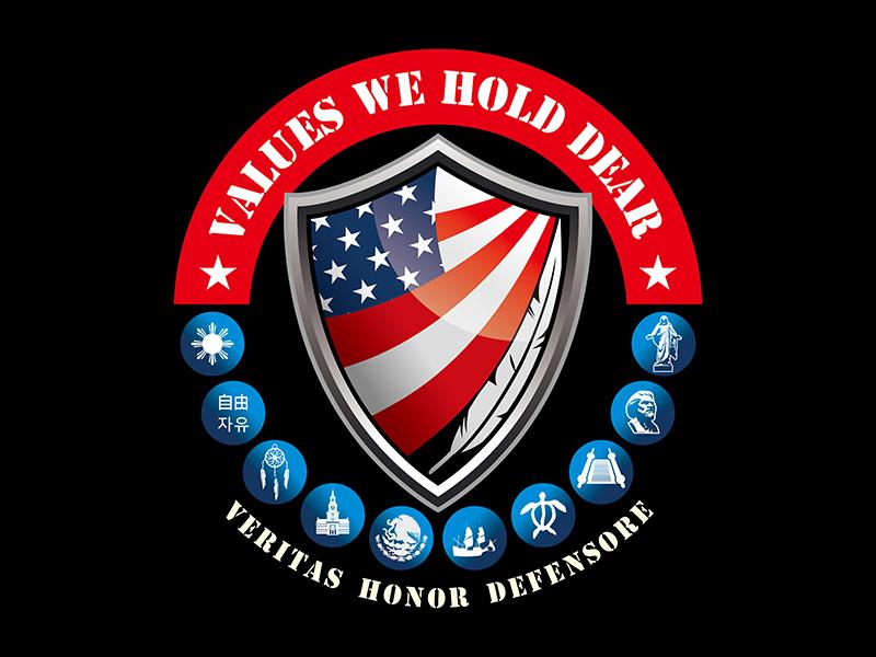 Values We Hold Dear logo design by gitzart