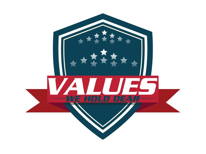 Values We Hold Dear logo design by ElonStark