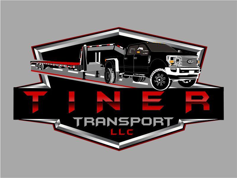 TINER TRANSPORT LLC Logo Design