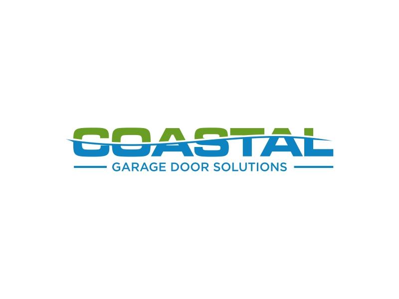 Coastal Garage Door Solutions logo design by EkoBooM