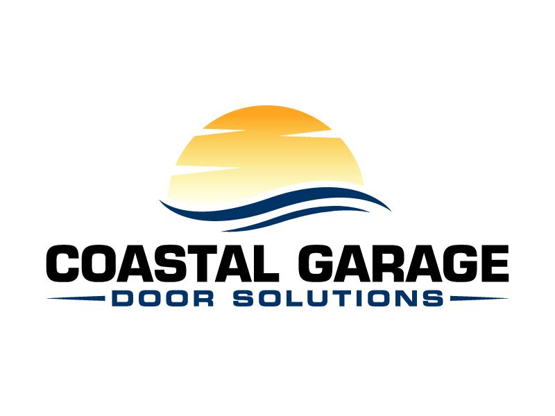 Coastal Garage Door Solutions logo design by Kirito