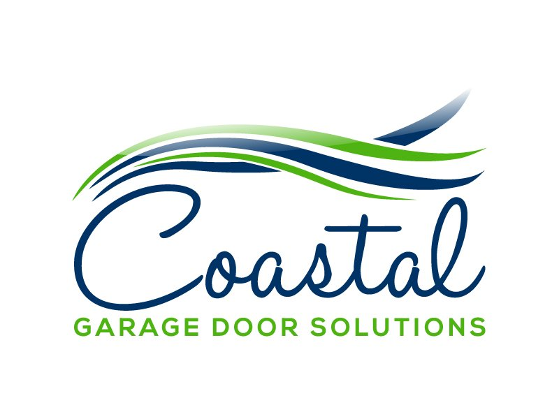 Coastal Garage Door Solutions logo design by karjen
