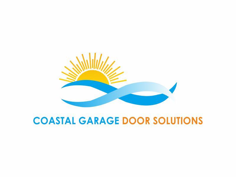 Coastal Garage Door Solutions logo design by dasam