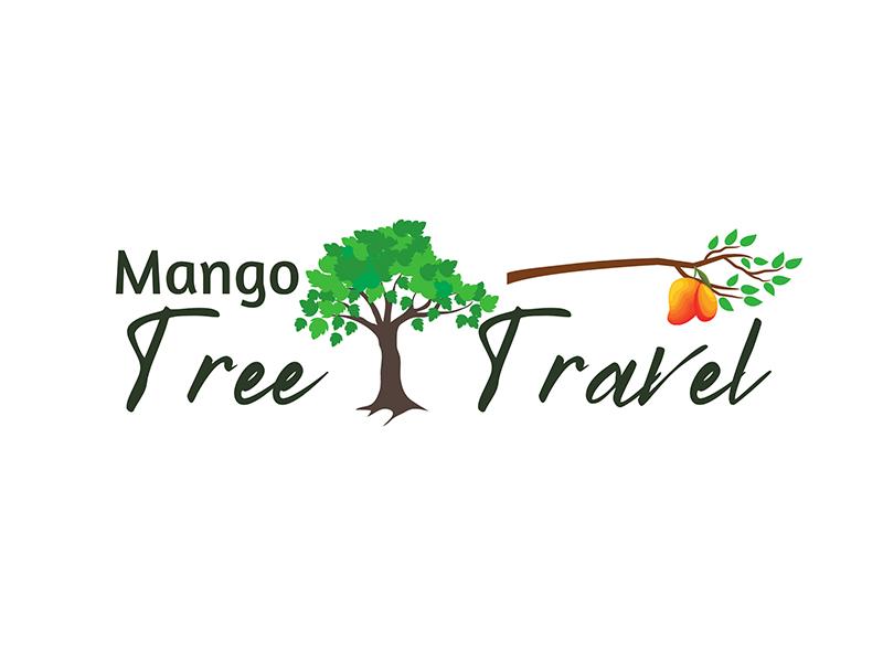 Mango Tree Travel logo design by Ellie Curie
