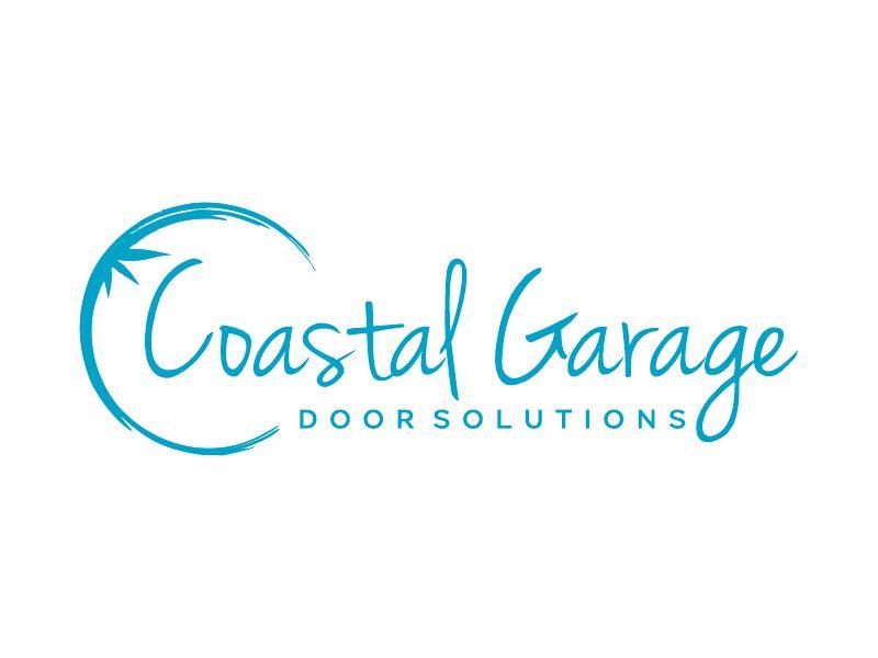 Coastal Garage Door Solutions logo design by Gwerth