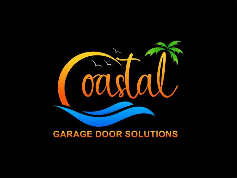 Coastal Garage Door Solutions logo design by barley