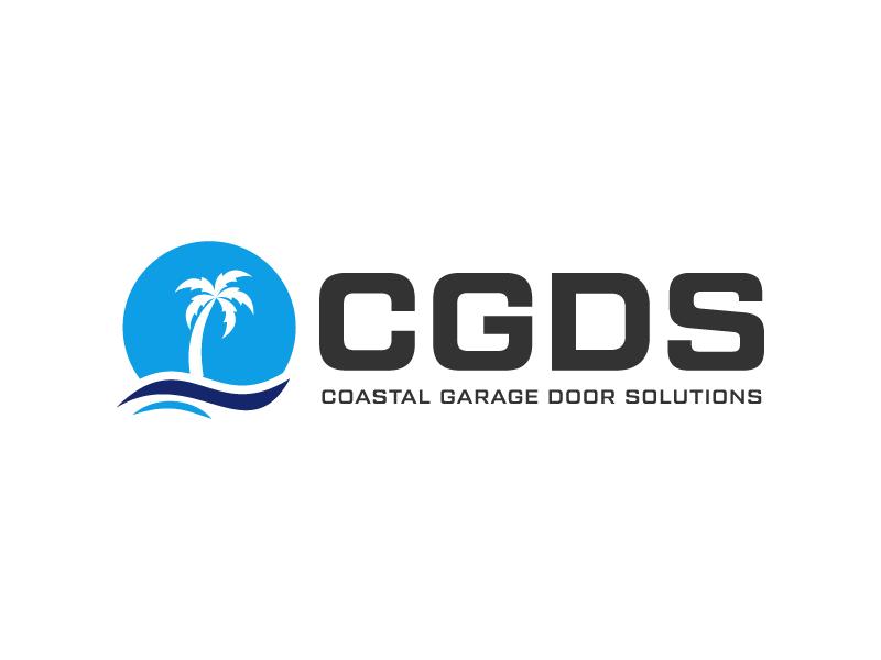 Coastal Garage Door Solutions logo design by gateout