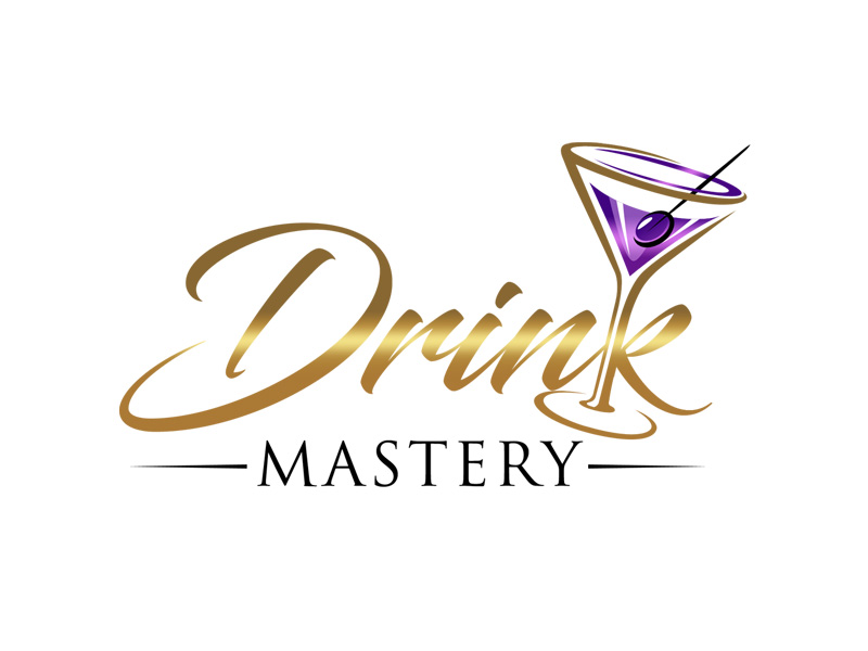 Drink Mastery Logo Design