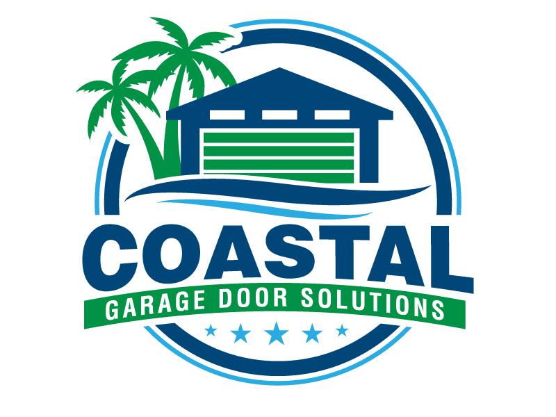 Coastal Garage Door Solutions logo design by jaize