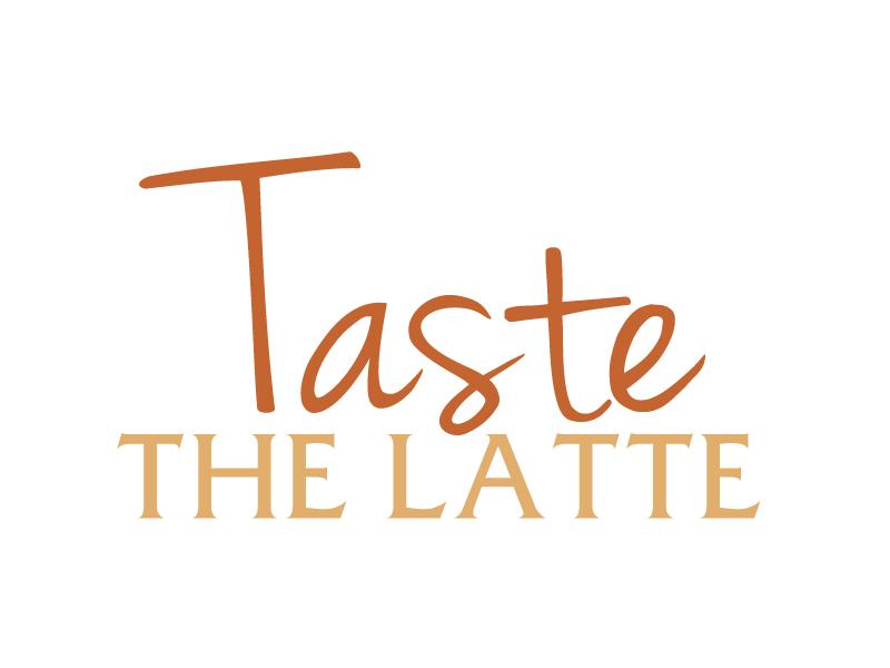 Taste The Latte logo design by ElonStark