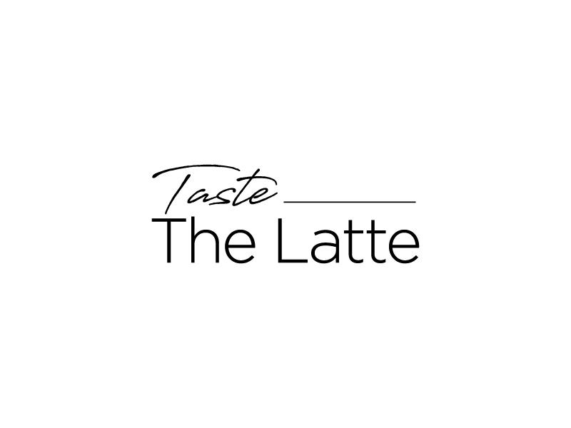 Taste The Latte logo design by jonggol