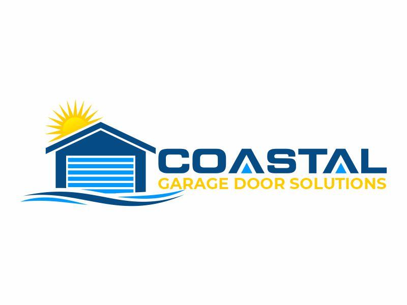 Coastal Garage Door Solutions logo design by zonpipo1