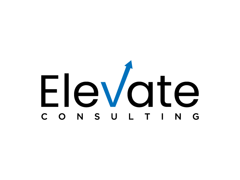 Elevate Consulting logo design by denfransko