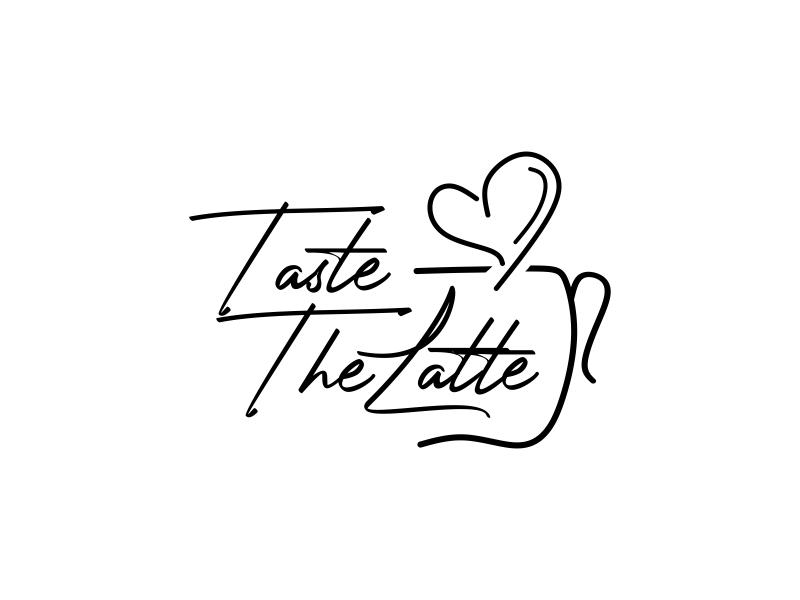 Taste The Latte logo design by semar