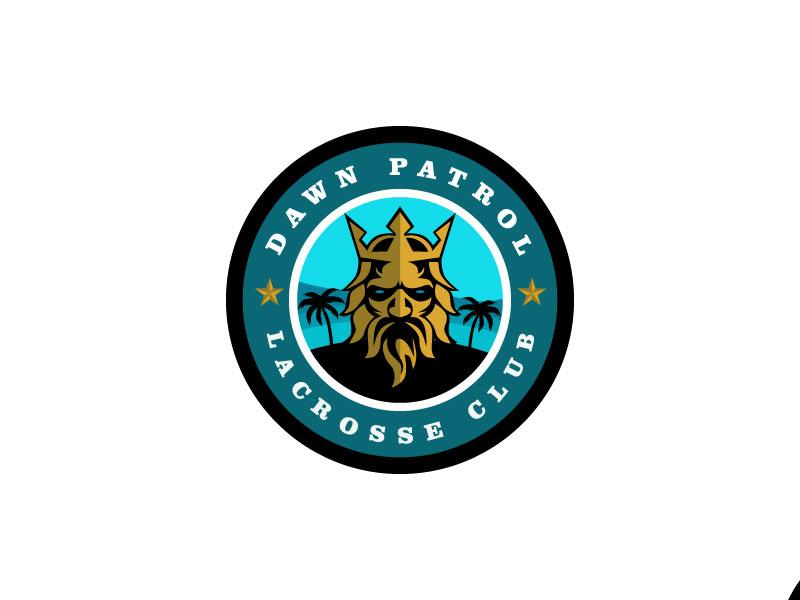 Dawn Patrol Lacrosse Club Logo Design