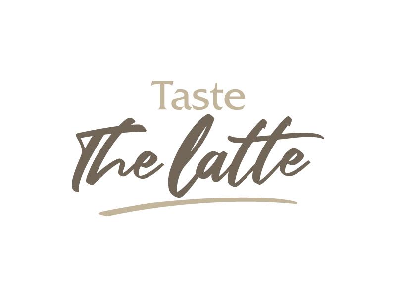 Taste The Latte logo design by lokiasan