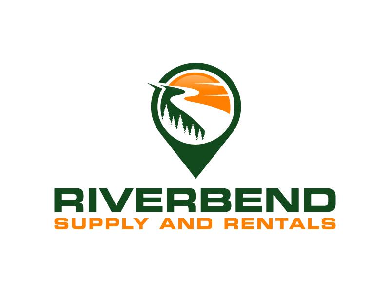 Riverbend Supply and Rentals Logo Design