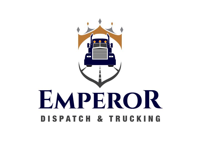 Emperor Dispatch & Trucking Logo Design