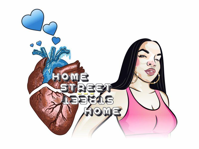 Home Street Home Logo Design