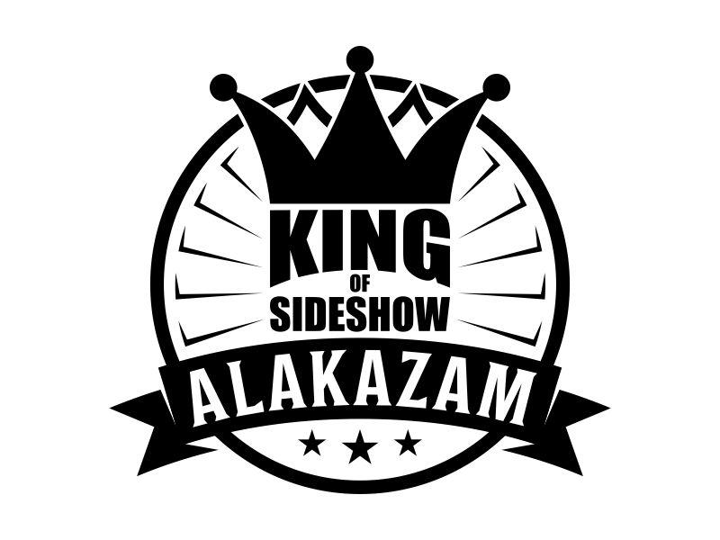ALAKAZAM- KING OF SIDESHOW Logo Design