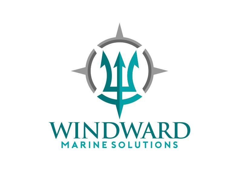 Windward Marine Solutions Logo Design