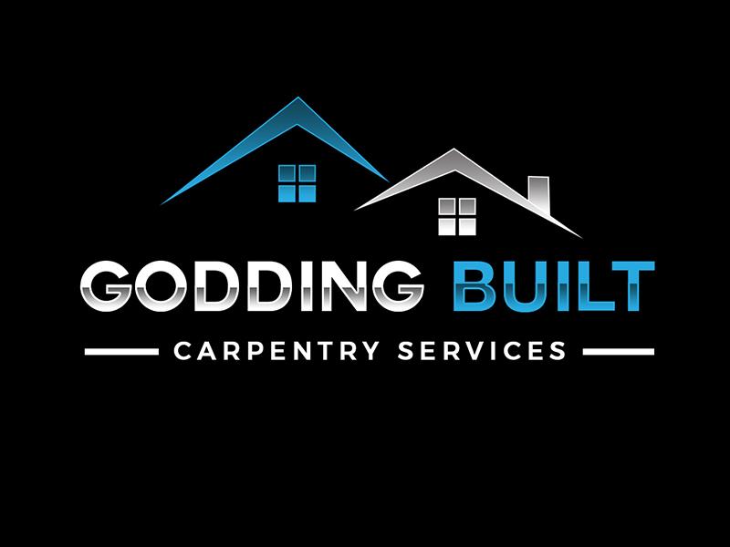 Godding Built Logo Design
