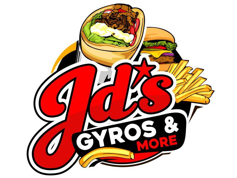 JD's Gyros & More Logo Design
