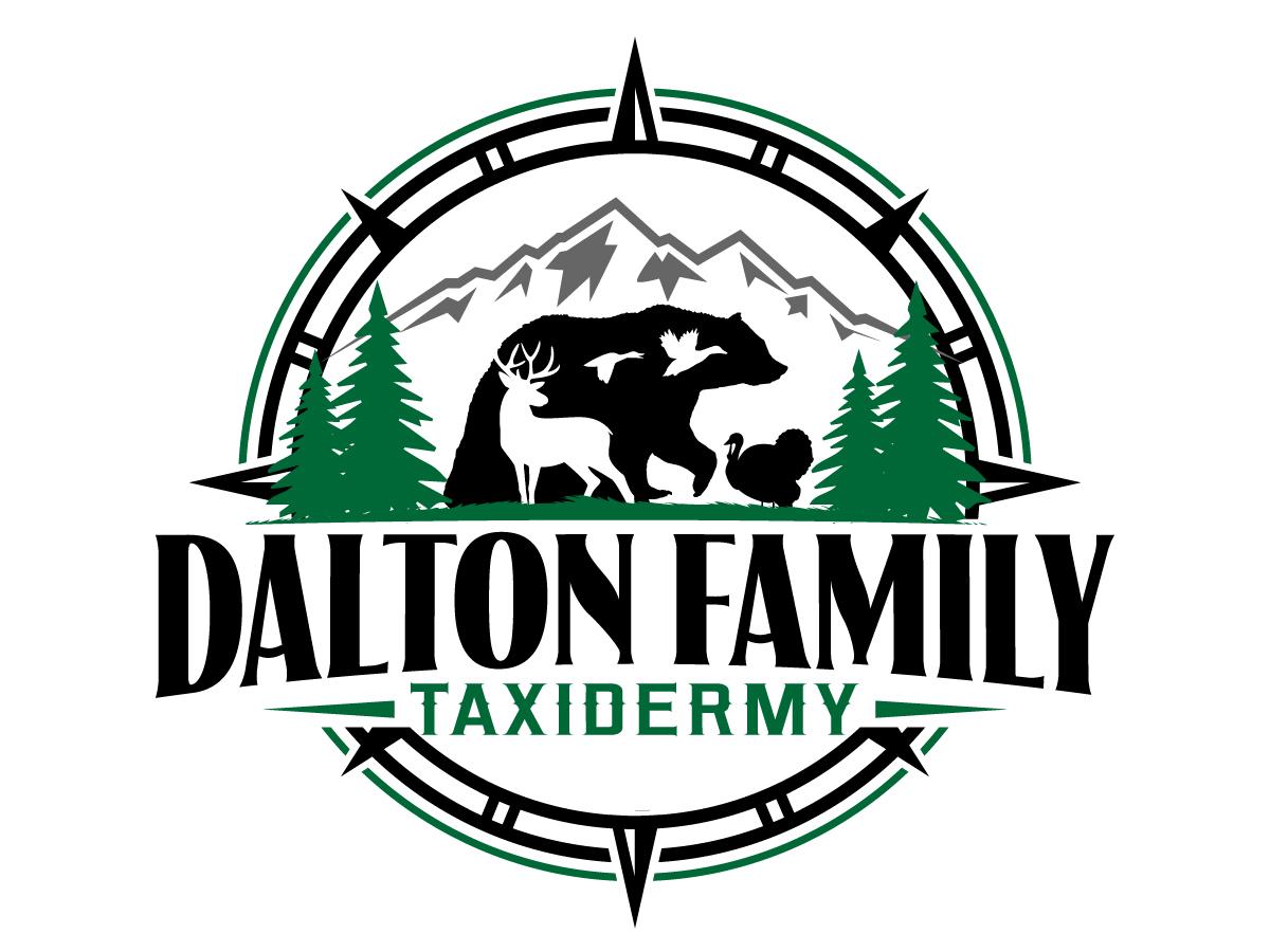 Dalton Family Taxidermy Logo Design